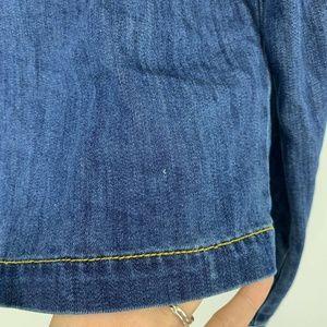 CAbi Jackets & Coats - Cabi Cropped Denim Dakota Jean Jacket NO LACE 5297